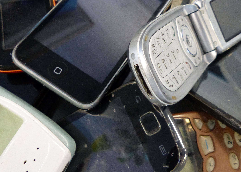 Téléphones portables usagés