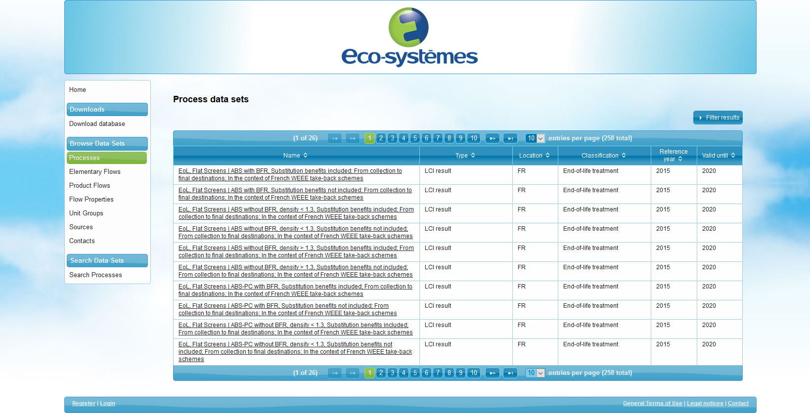 1ère base de données pour évaluer l'impact environnemental des EEE* en fin de vie
